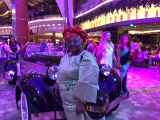 GM birthday pose aboard the oasis of the seas
