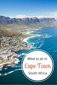 Traveler's guide on Cape Town