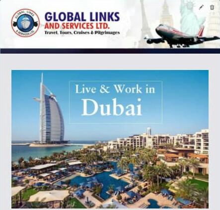 LIVE & WORK IN DUBAI – LATEST VACANCIES!!!