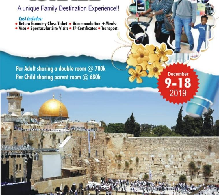 SPEND DECEMBER IN ISRAEL & END THE YEAR WITH AN AMAZING ENCOUNTER WITH THE LORD!!!