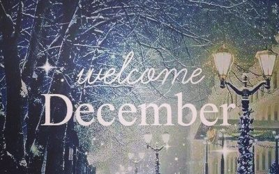 WELCOME TO DECEMBER!!!!