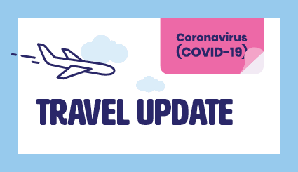 UPDATED COVID-19 REQUIREMENTS FOR MOST TRAVELED DESTINATIONS