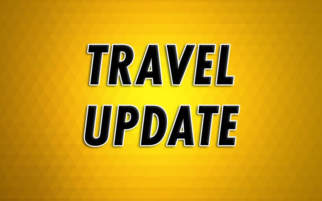 URGENT TRAVEL BREAKING NEWS : TRAVEL UPDATE ON FLIGHTS TO/FROM THE UK